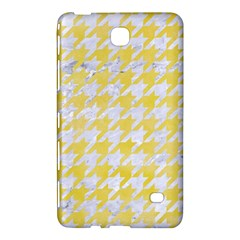 Houndstooth1 White Marble & Yellow Watercolor Samsung Galaxy Tab 4 (8 ) Hardshell Case