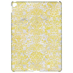 Damask2 White Marble & Yellow Watercolor (r) Apple Ipad Pro 12 9   Hardshell Case by trendistuff
