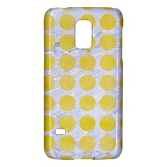 Circles1 White Marble & Yellow Watercolor (r) Galaxy S5 Mini by trendistuff