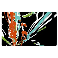 Multicolor Abstract Design Apple Ipad Pro 9 7   Flip Case by dflcprints