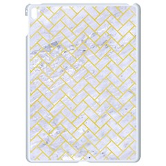 Brick2 White Marble & Yellow Watercolor (r) Apple Ipad Pro 9 7   White Seamless Case by trendistuff