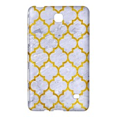Tile1 White Marble & Yellow Marble (r) Samsung Galaxy Tab 4 (8 ) Hardshell Case  by trendistuff