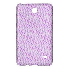 Silly Stripes Lilac Samsung Galaxy Tab 4 (7 ) Hardshell Case  by snowwhitegirl
