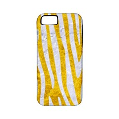 Skin4 White Marble & Yellow Marble (r) Apple Iphone 5 Classic Hardshell Case (pc+silicone) by trendistuff