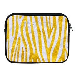 Skin4 White Marble & Yellow Marble (r) Apple Ipad 2/3/4 Zipper Cases by trendistuff