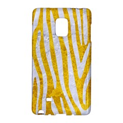 Skin4 White Marble & Yellow Marble (r) Galaxy Note Edge by trendistuff