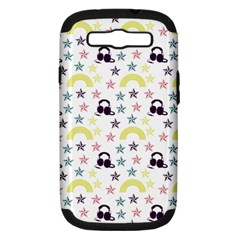 Music Stars Samsung Galaxy S Iii Hardshell Case (pc+silicone) by snowwhitegirl