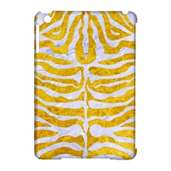 Skin2 White Marble & Yellow Marble Apple Ipad Mini Hardshell Case (compatible With Smart Cover) by trendistuff