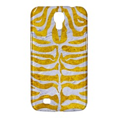 Skin2 White Marble & Yellow Marble Samsung Galaxy Mega 6 3  I9200 Hardshell Case by trendistuff