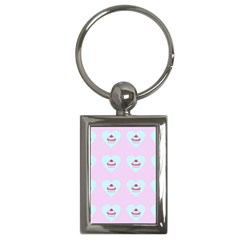 Pink Cupcake Key Chains (rectangle)  by snowwhitegirl