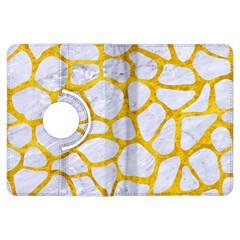 Skin1 White Marble & Yellow Marble Kindle Fire Hdx Flip 360 Case by trendistuff