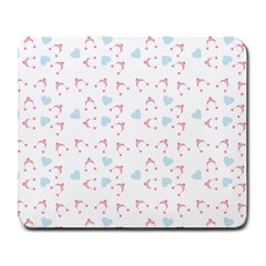 Pink Hats Large Mousepads by snowwhitegirl