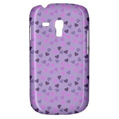 Heart Drops Violet Galaxy S3 Mini by snowwhitegirl