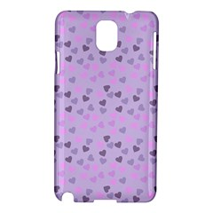 Heart Drops Violet Samsung Galaxy Note 3 N9005 Hardshell Case by snowwhitegirl