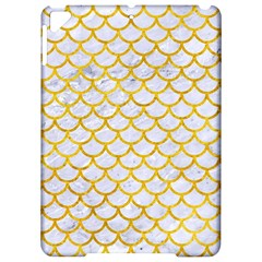 Scales1 White Marble & Yellow Marble (r) Apple Ipad Pro 9 7   Hardshell Case by trendistuff