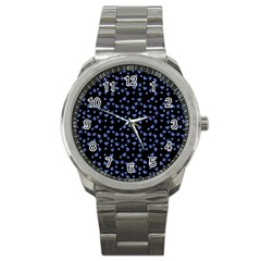 Blue Hearts Sport Metal Watch by snowwhitegirl