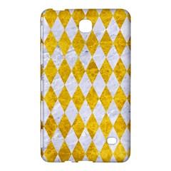 Diamond1 White Marble & Yellow Marble Samsung Galaxy Tab 4 (8 ) Hardshell Case  by trendistuff