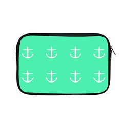Seafoam Anchors Apple Macbook Pro 13  Zipper Case by snowwhitegirl