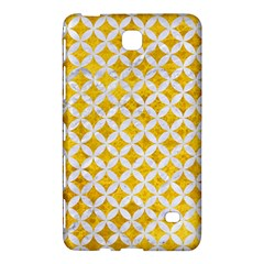 Circles3 White Marble & Yellow Marble Samsung Galaxy Tab 4 (8 ) Hardshell Case  by trendistuff