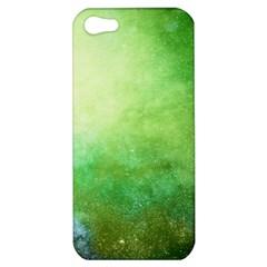 Galaxy Green Apple Iphone 5 Hardshell Case by snowwhitegirl
