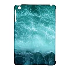 Green Ocean Splash Apple Ipad Mini Hardshell Case (compatible With Smart Cover) by snowwhitegirl