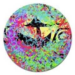 Wow Magnet 5  (round) by snowwhitegirl