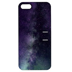 Galaxy Sky Purple Apple Iphone 5 Hardshell Case With Stand by snowwhitegirl