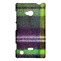 Neon Green Plaid Flannel Nokia Lumia 720 by snowwhitegirl