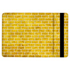 Brick1 White Marble & Yellow Marble Ipad Air Flip by trendistuff