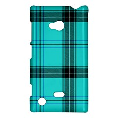 Aqua Plaid Nokia Lumia 720 by snowwhitegirl