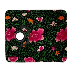Pink Japan Floral Galaxy S3 (flip/folio) by snowwhitegirl