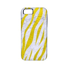 Skin3 White Marble & Yellow Leather (r)skin3 White Marble & Yellow Leather (r) Apple Iphone 5 Classic Hardshell Case (pc+silicone) by trendistuff