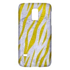 Skin3 White Marble & Yellow Leather (r)skin3 White Marble & Yellow Leather (r) Galaxy S5 Mini by trendistuff