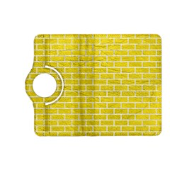 Brick1 White Marble & Yellow Leather Kindle Fire Hd (2013) Flip 360 Case by trendistuff