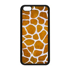 Skin1 White Marble & Yellow Grunge (r) Apple Iphone 5c Seamless Case (black) by trendistuff