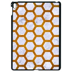 Hexagon2 White Marble & Yellow Grunge (r) Apple Ipad Pro 9 7   Black Seamless Case by trendistuff