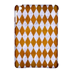 Diamond1 White Marble & Yellow Grunge Apple Ipad Mini Hardshell Case (compatible With Smart Cover) by trendistuff