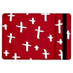 Red White Cross Ipad Air Flip by snowwhitegirl
