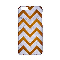 Chevron9 White Marble & Yellow Grunge (r) Apple Iphone 6/6s Hardshell Case by trendistuff