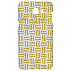 Woven1 White Marble & Yellow Denim (r) Samsung C9 Pro Hardshell Case  by trendistuff