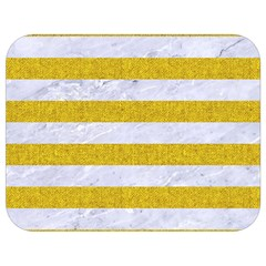 Stripes2white Marble & Yellow Denim Full Print Lunch Bag by trendistuff