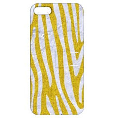 Skin4 White Marble & Yellow Denim (r)skin4 White Marble & Yellow Denim (r) Apple Iphone 5 Hardshell Case With Stand by trendistuff