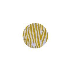 Skin4 White Marble & Yellow Denim 1  Mini Buttons by trendistuff