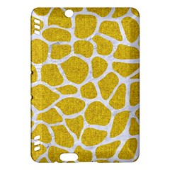 Skin1 White Marble & Yellow Denim (r) Kindle Fire Hdx Hardshell Case by trendistuff