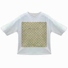 SCALES2 WHITE MARBLE & YELLOW DENIM (R) Infant/Toddler T-Shirts