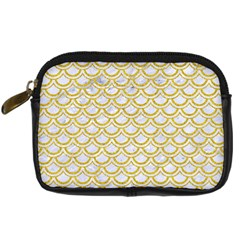 SCALES2 WHITE MARBLE & YELLOW DENIM (R) Digital Camera Cases