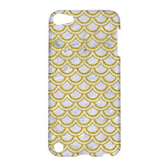 SCALES2 WHITE MARBLE & YELLOW DENIM (R) Apple iPod Touch 5 Hardshell Case