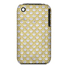 SCALES2 WHITE MARBLE & YELLOW DENIM (R) iPhone 3S/3GS