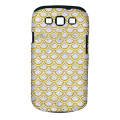 SCALES2 WHITE MARBLE & YELLOW DENIM (R) Samsung Galaxy S III Classic Hardshell Case (PC+Silicone)