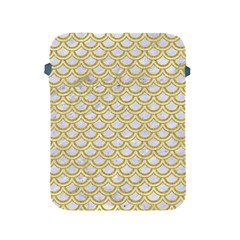 SCALES2 WHITE MARBLE & YELLOW DENIM (R) Apple iPad 2/3/4 Protective Soft Cases